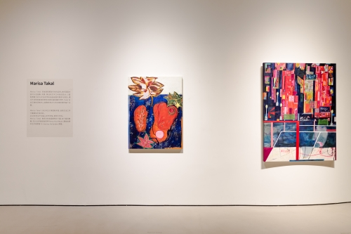 Blossom, installation view at Artron Art Center, Shenzhen, China, 2021.