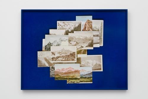 "Elise Rasmussen, ""my desire, my blue, my mountain,"" 2018."