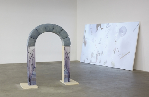 "Marina Pinsky, ""Arch,"" installation view in International Women's Day​, 2014."