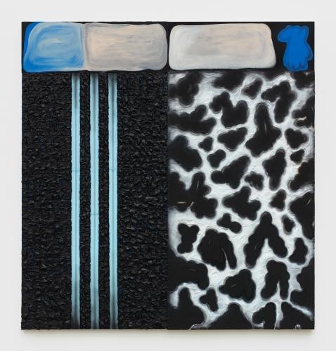 """""""Dalmatian (No. 8) Blue,"""" 2019"""