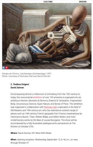 Galerie Magazine | Editors' Picks