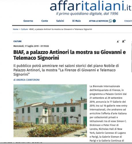 Affaritaliani | Andrea Cianferoni