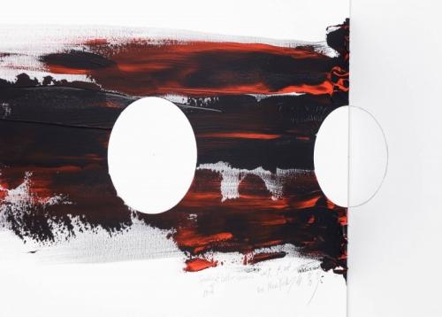 Installation View KIM YONG-IK, Speaking of Latter Genesis at TIna Kim Gallery, New York