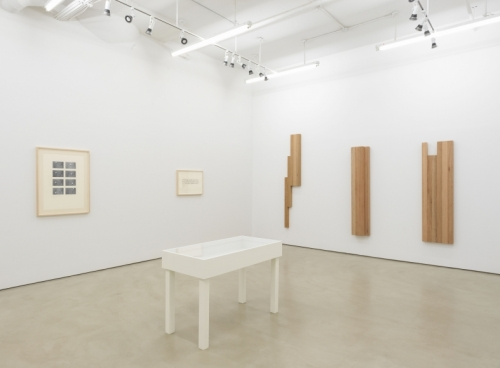 Hassan Sharif: Semi-Systems, Installation view, Alexander Gray Associates (2018)
