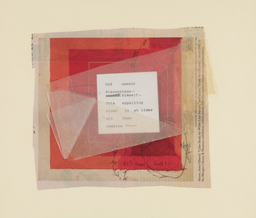 Janet Malcolm's Collages Profiled in Artnet News