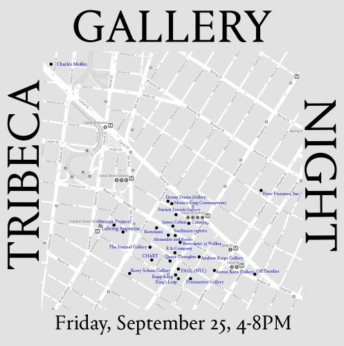 James Cohan at Tribeca Gallery Night
