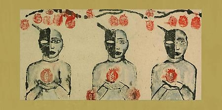 FRANCESCO CLEMENTE: The Chinese Shadows and Selected Watercolors Press Release 1