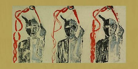 FRANCESCO CLEMENTE: The Chinese Shadows and  Selected Watercolors Press Release 2