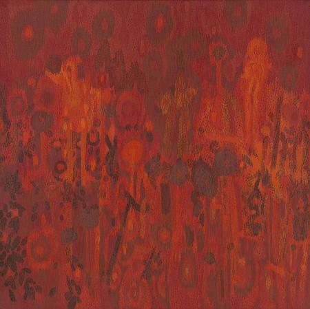 Lee Mullican, Transfigured Night, 1962