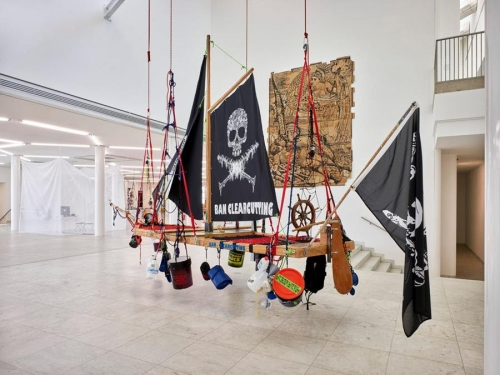 ANDREA BOWERS AT MUSEUM ABTEIBERG