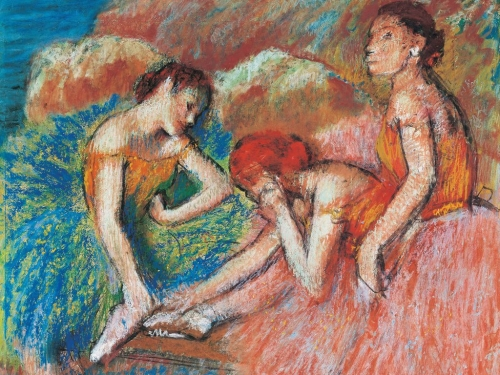 PASTELS FROM THE 16TH TO THE 21ST CENTURY LIOTARD, DEGAS, KLEE, SCULLY...