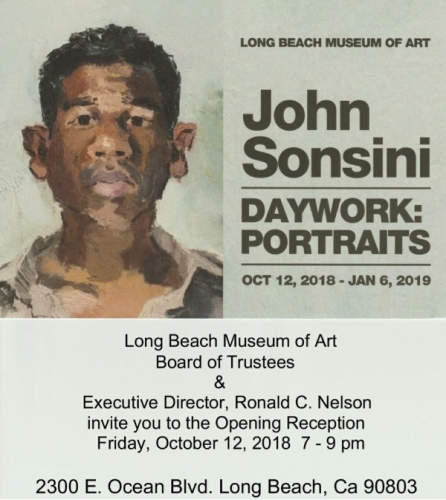 John Sonsini at Long Beach Museum of Art