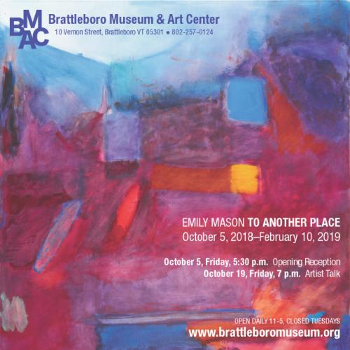 Emily Mason at Brattleboro Museum & Art Center