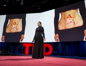 Cynicism takes a break at TED, thanks to three artists