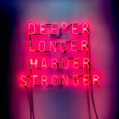 Hannah Cutts  Deeper, Longer, Harder, Stronger, 2018