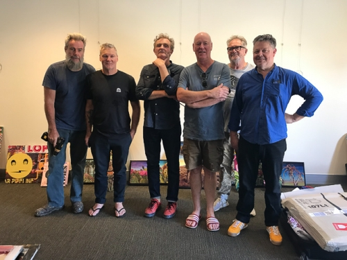 Robert Moore, Jim Mitchell, Gerry Wedd, Paul McNeil, Dare Jennings, David McKay.