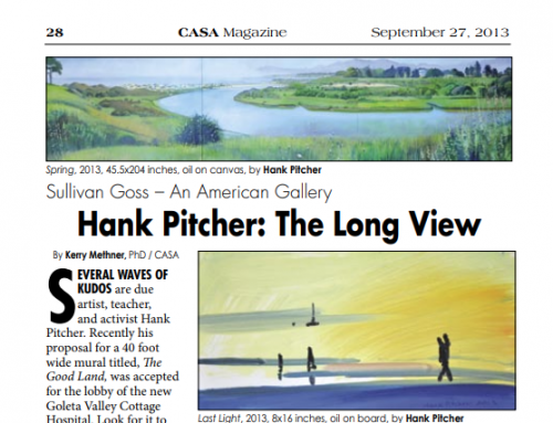 Hank Pitcher: The Long View