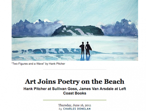 Art Joins Poetry on the Beach