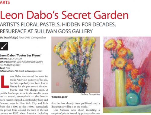 Leon Dabo's Secret Garden