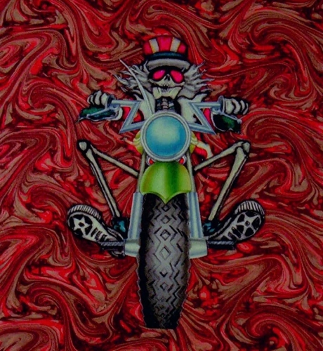 Remastered Opening Animation  -  Grateful Dead Movie, 1977