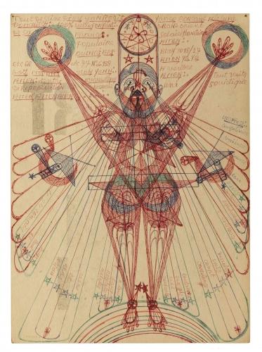 The Doors of Perception, Un projet présenté à Frieze NY, en collaboration avec l'Outsider Art Fair