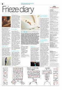 The Art Newspaper/Frieze Art Fair Daily