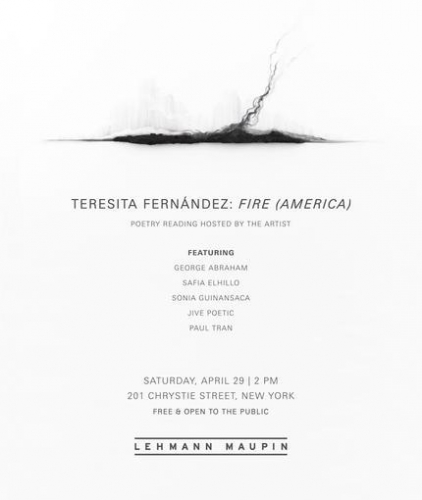 Poetry Reading Hosted by Teresita Fernández