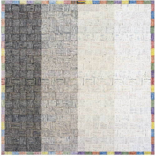 Art Review: Sarah Sze, McArthur Binion and Dana Schutz