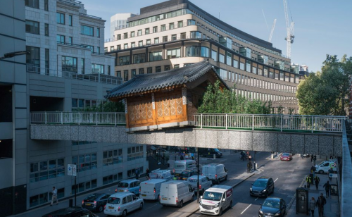 Do Ho Suh house sculpture stays put in London's square mile