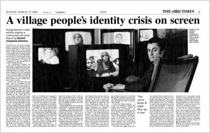 Kutlug Ataman - The Times