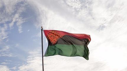 Creative Time Raises Flag by Nari Ward
