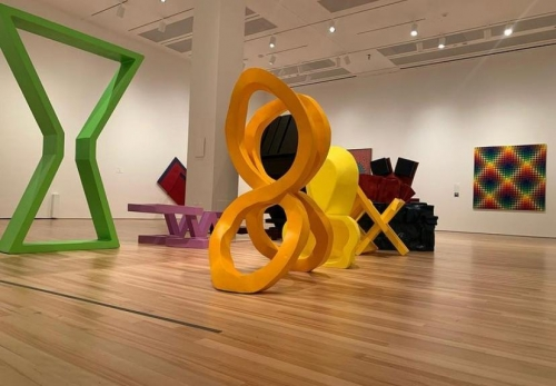 Pushing the Boundaries of Painting in the Americas, 1958 to 1983 @ The Blanton Museum of Art, Texas