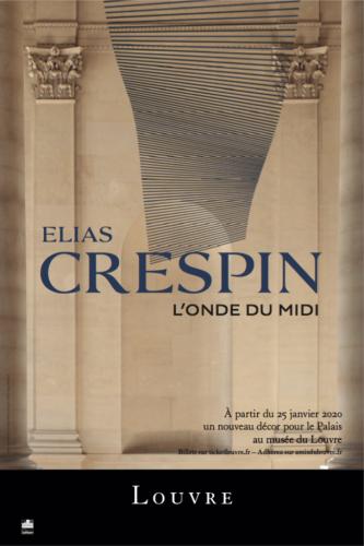 Elias Crespin. L'Onde du Midi @ Musée du Louvre, Paris