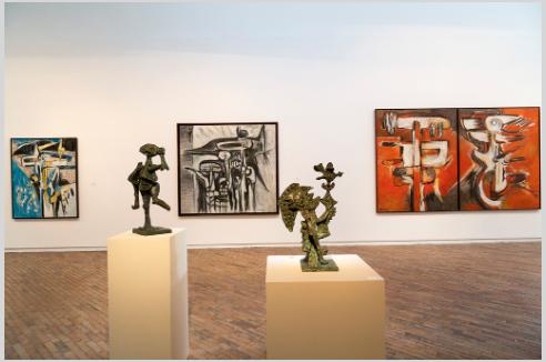 Oswaldo Vigas: Antológica 1943-2013 @Museo de Arte Moderno de Bogotá (MAMBO)