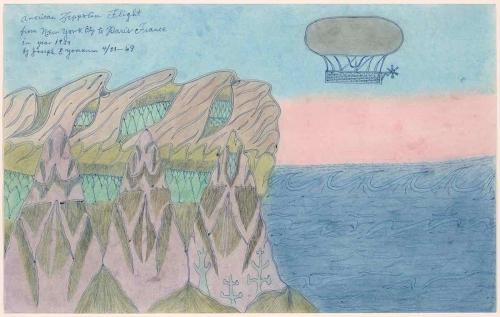 Landscape  of American Zeppolin by Joesph Elmer Yoakum