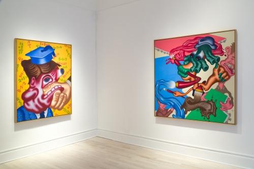 Peter Saul: New Painings