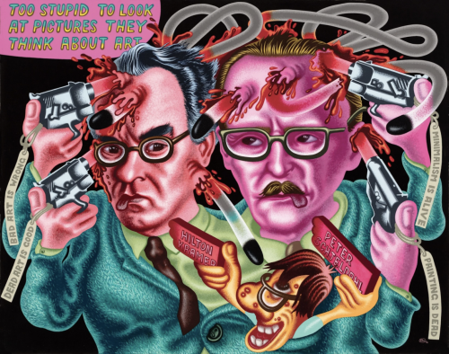 Peter Saul in the New Yorker