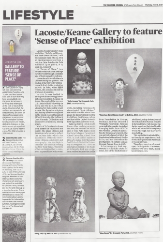 concord Journal features Sense of Place