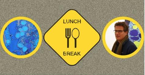 Jody Rasch is the featured artist for SciArt Initiative's LunchBreak on June 17
