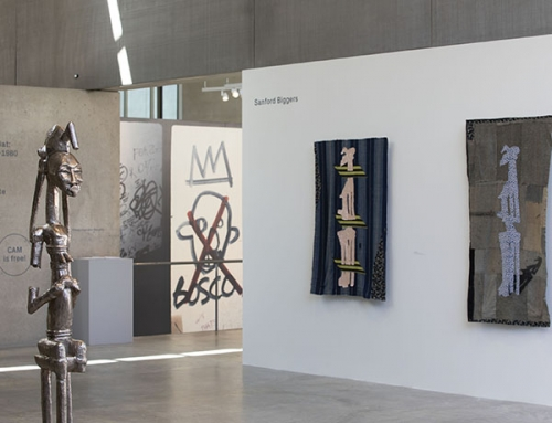 Sanford Biggers exhibition in St. Louis of his BAM sculptures