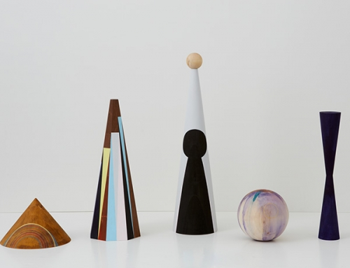 ceramic pieces by claudia wieser on exhibition in chelsea