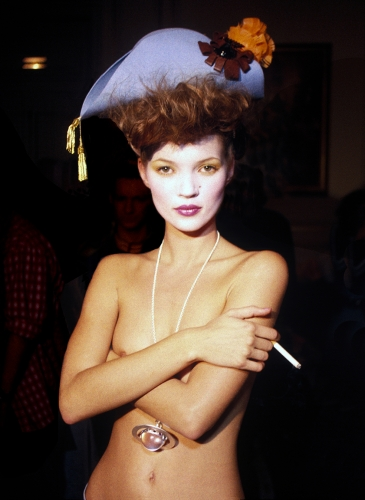 Kate Moss, Paris, 1993