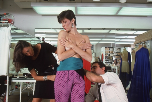Harry Benson, Donna Karan and Louis Dell'Olio for Anne Klein, 1982