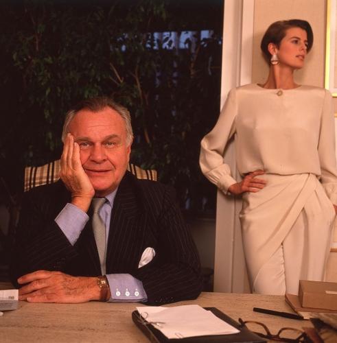 Harry Benson: Bill Blass, New York, 1980