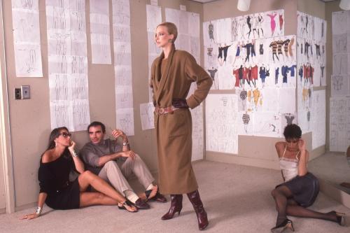 Donna Karan and Louis Dell'Olio for Anne Klein, 1982
