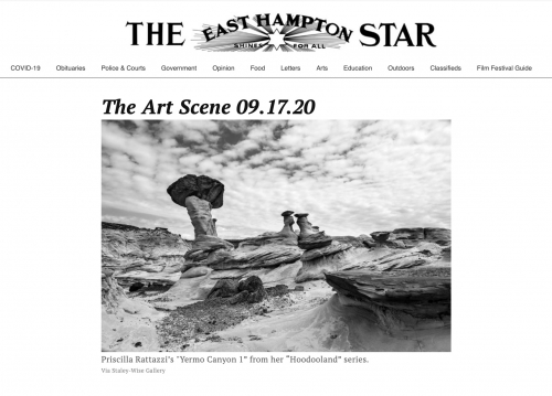 The East Hampton Star: The Art Scene 09.17.20