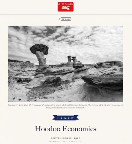 Air Mail: Hoodoo Economics