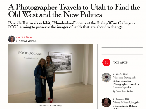 La Voce di New York: A Photographer Travels to Utah to Find the Old West and the New Politics