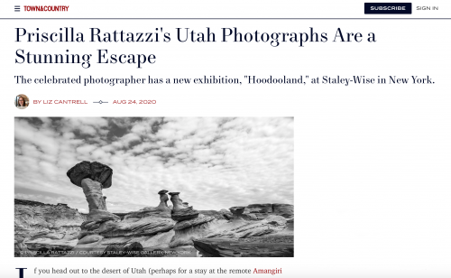 Town and Country: Priscilla Rattazzi's Utah Photographs Are a Stunning Escape