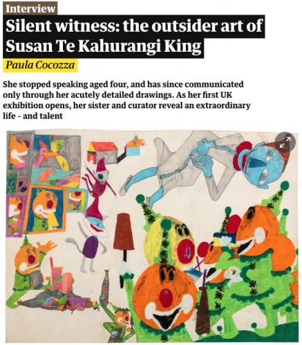Silent witness: the outsider art of Susan Te Kahurangi King